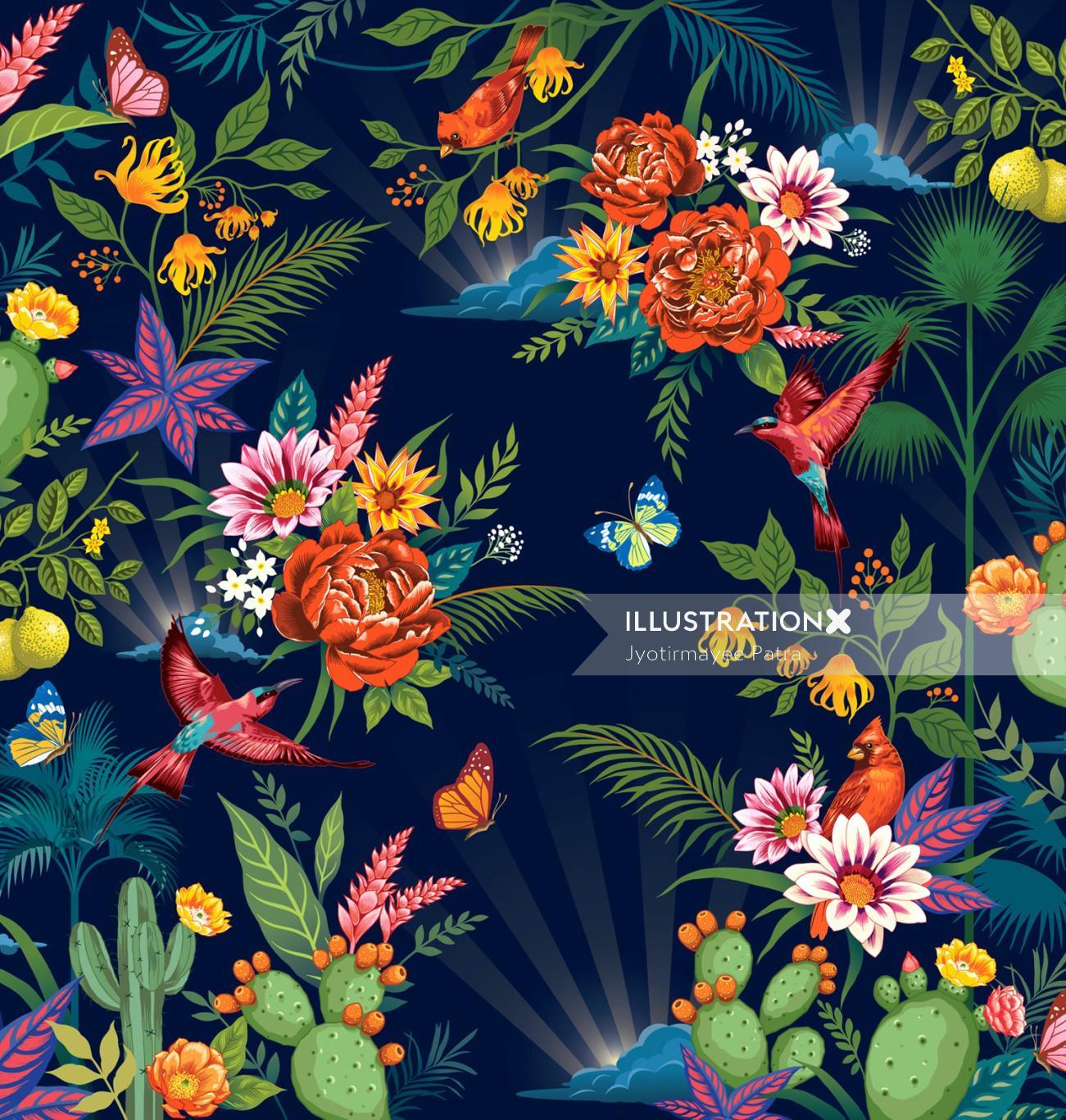 Custom Botanical Illustration