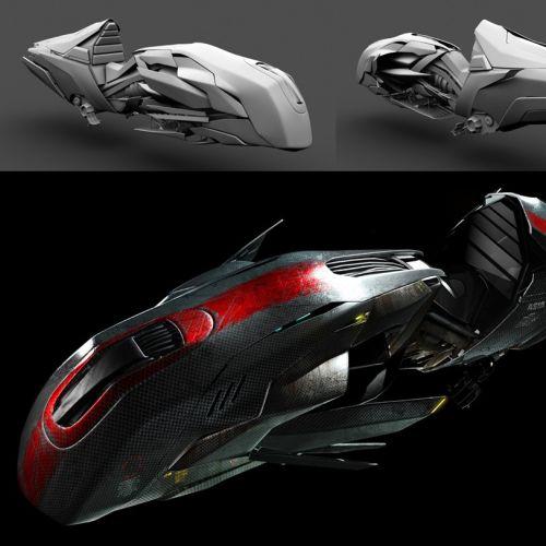 3D college design of Future Bike