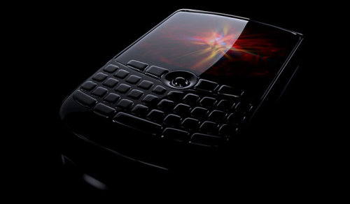 Photo realistic illustration of Blackberry Phone
