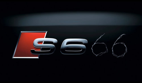 Badge design of Audi a6
