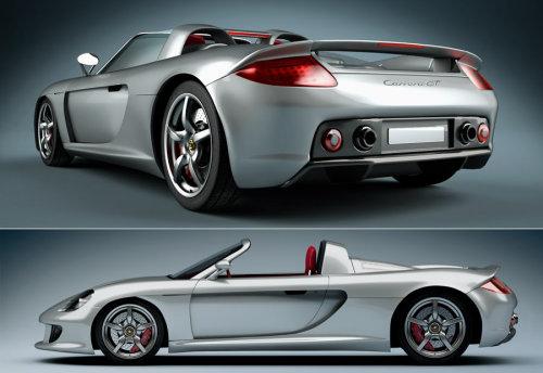 3d college design of Porsche GT