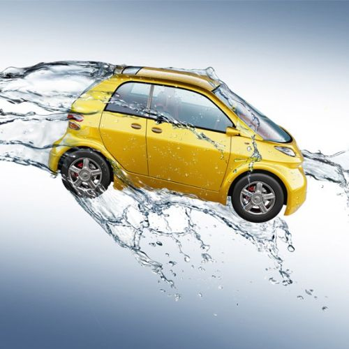 3D design of Car Splash