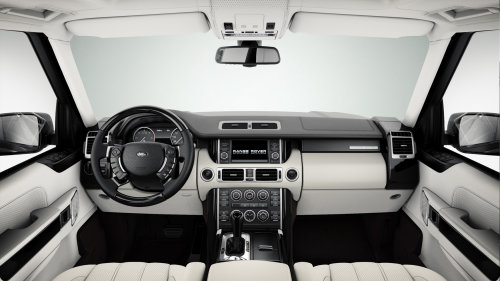3d arr of Range Rover Interior