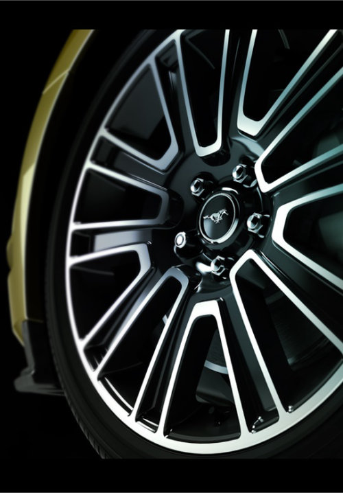 Technical art of car wheel