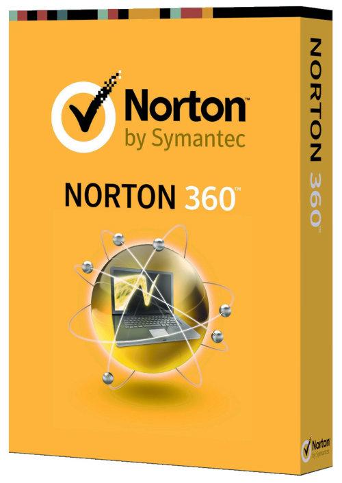 Packaging design of Norton virus 360
