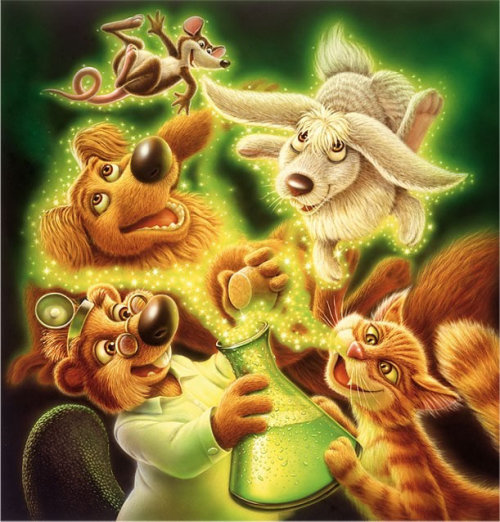 Cartoon & Humour magic animals