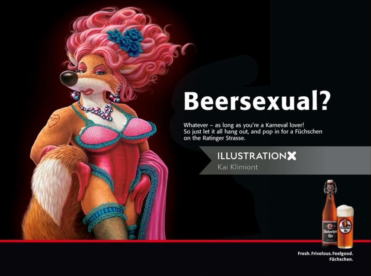 Cartoon & Humour beersexual