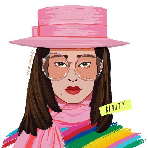 Karen Gonzalez Fashion Illustrator from Mexico