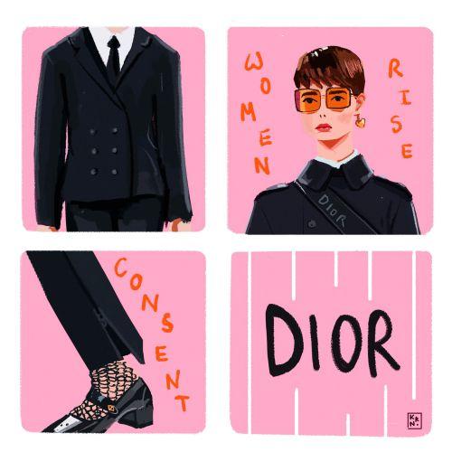 Christian Dior fashion animated gif