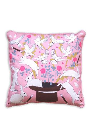 Do you believe in magic cushion by Karen Mabon