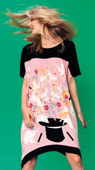 Believe in magic naight shirt designed by Karen Mabon for Peter Alexander