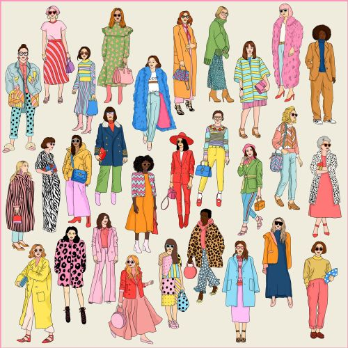 Karen Mabon Moda Illustrator from UK