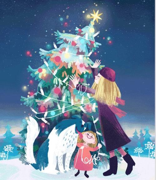 圣诞树动画
