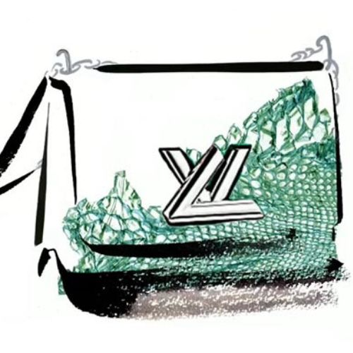 Louis Vuitton graphical video by Katharine Asher
