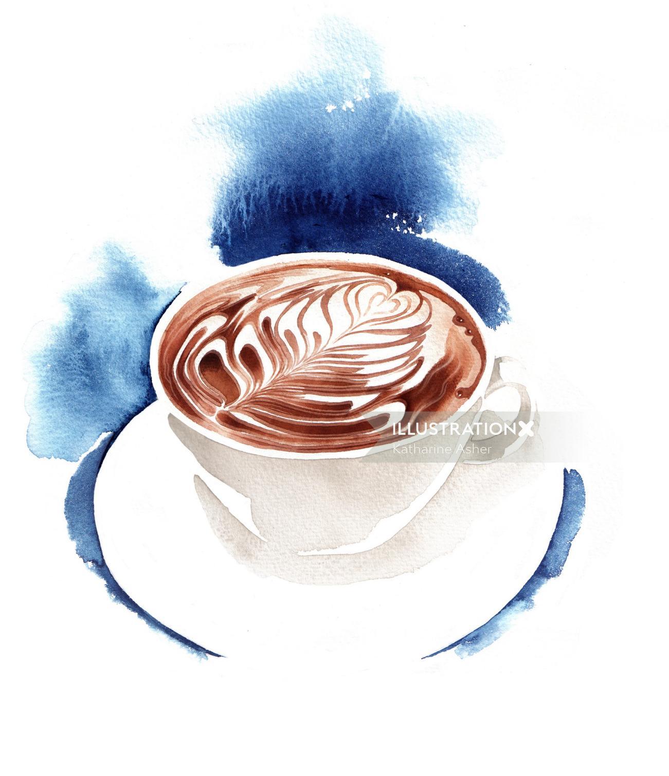 Finest Coffee illustration