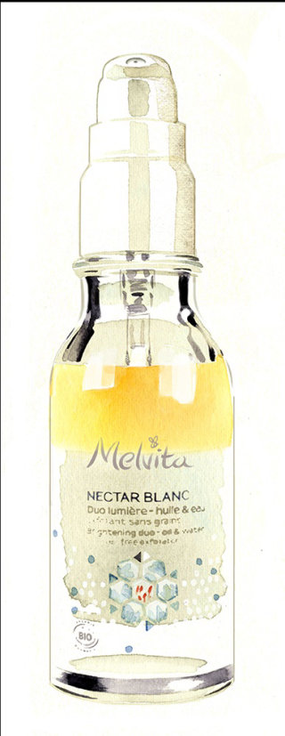 Melvita - Nectar Blanc packaging