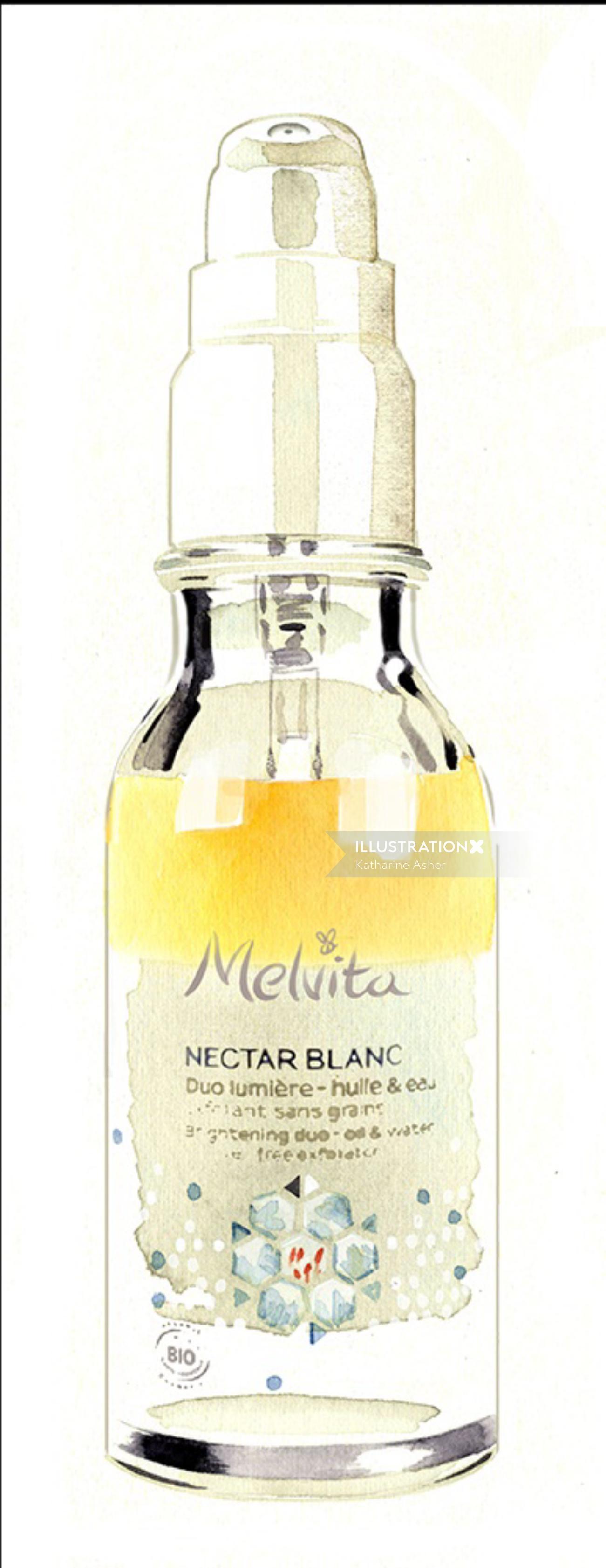 Melvita - Nectar Blanc packaging