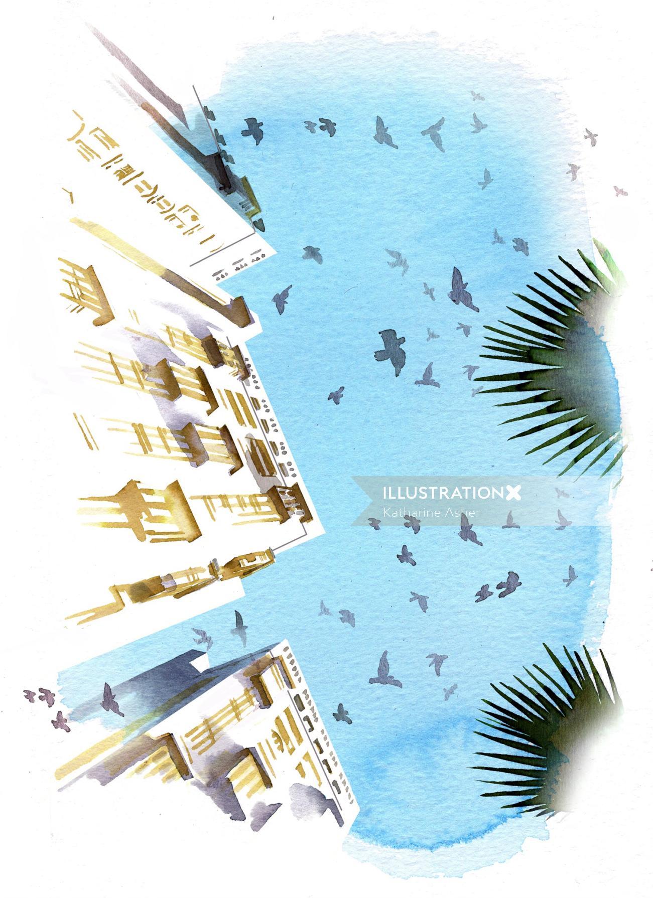 Arabian Skies Mosha Design - ARABIA