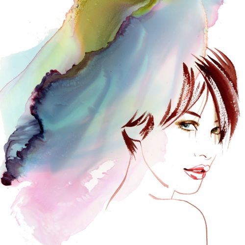 Katharine Asher International Figurative & Fashion Illustrator. UK