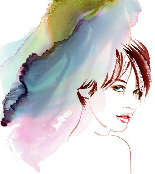 美容化妆品调色板