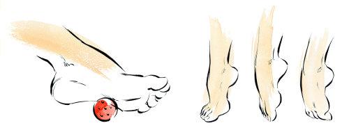 Beauty Scholl Foot Exercises