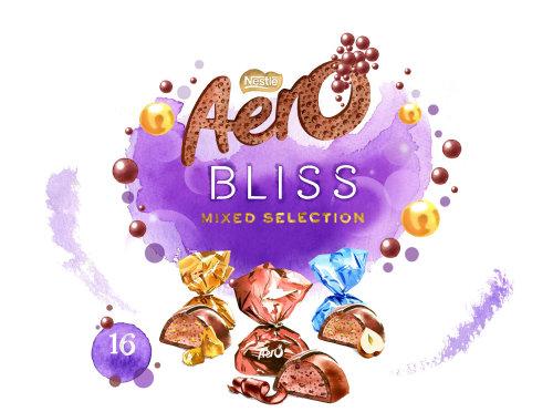 Packaging Aero Bliss Chocolates