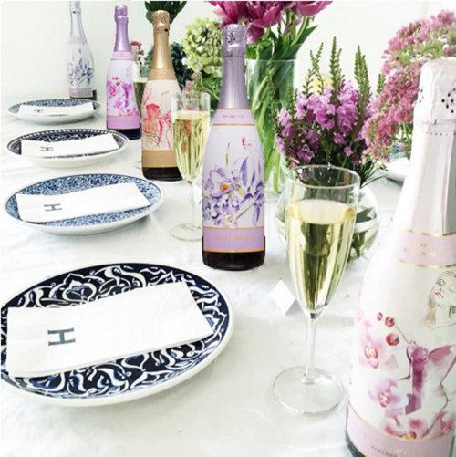 Food & Drink Yellowglen Wines the floral range