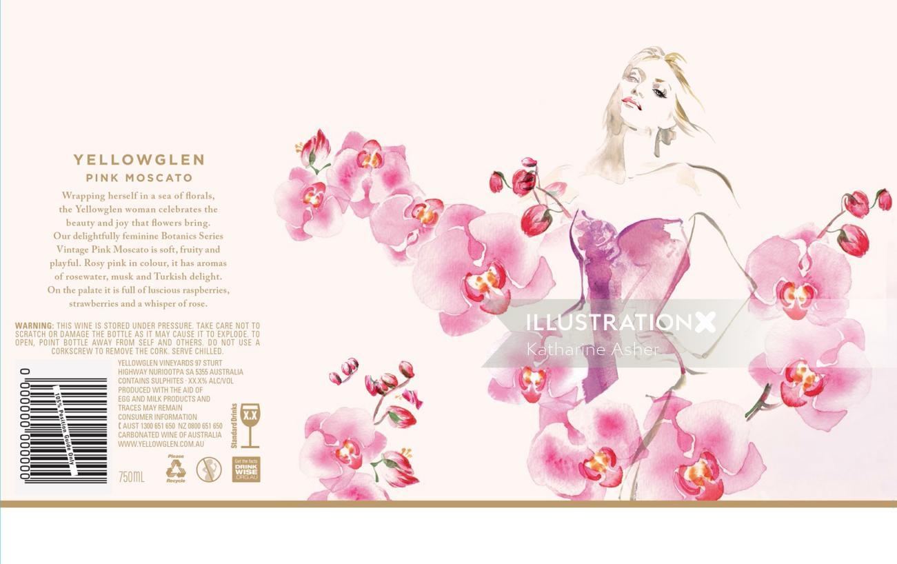 Fashion Floral Range Yellowglen Winws