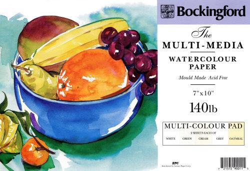Packaging Bockingford watercolour
