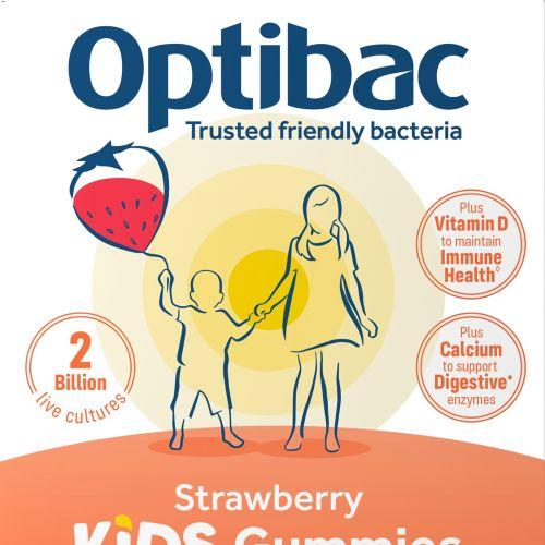Packaging Optibac digestive suplements