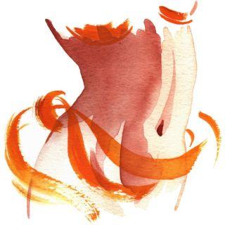 lady waist illustration by Katharine Asher