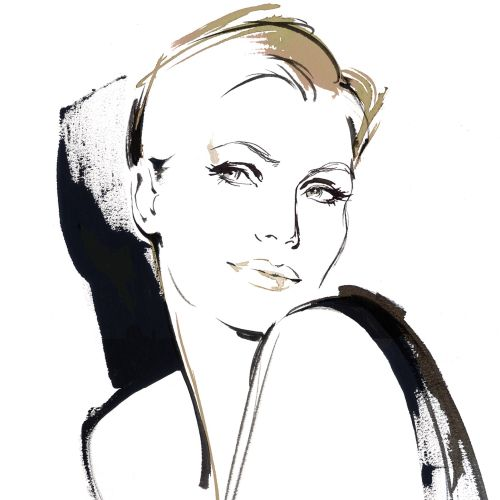 Sample for beauty product pitch - Illustration by Katharine Asher