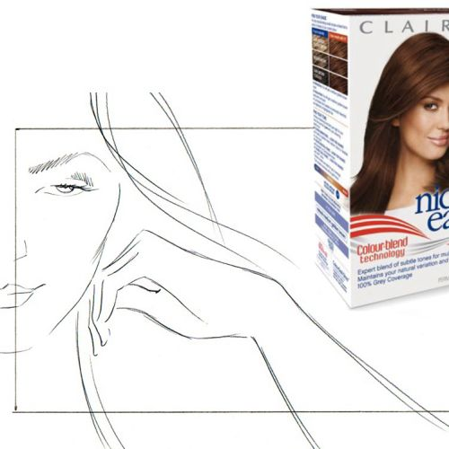 Storyboard for Clairol Hair care