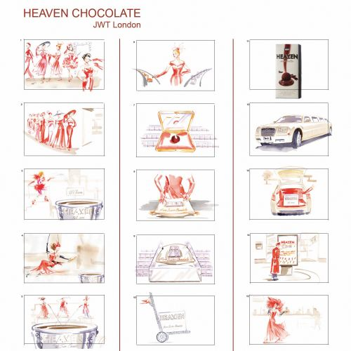 HEAVEN CHOCOLATE Board by Katharine Asher