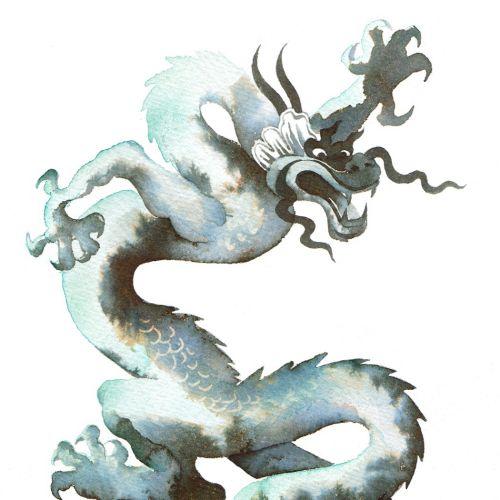 Illustration of Dragon icon for Pekoe Teas