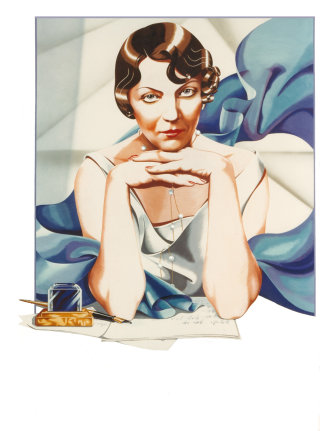 Portrait of Jean Rhys illustration by Danny Allison