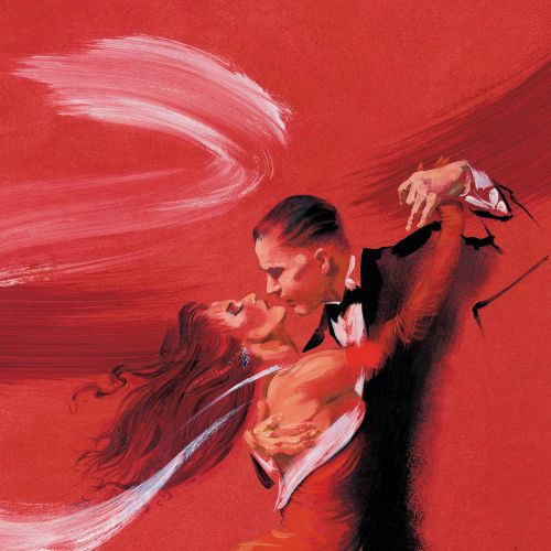 Argentenian tango illustration by Katharine Asher