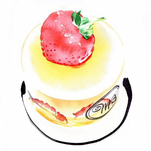 Cake illustration by Katharine Asher