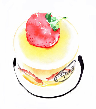 Cake illustration by Katharine Asher