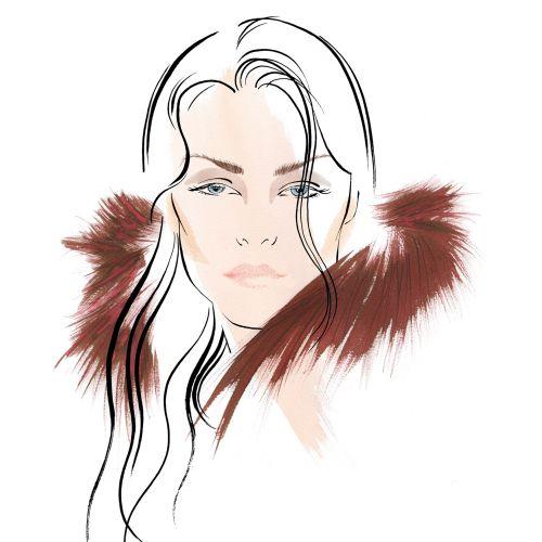 ELFIN MAKE UP illustration by Katharine Asher