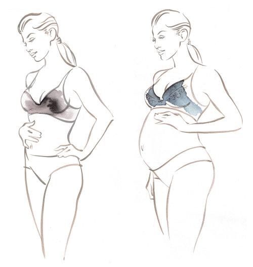 Sous-vêtements de grossesse Amoralia Katharine Asher