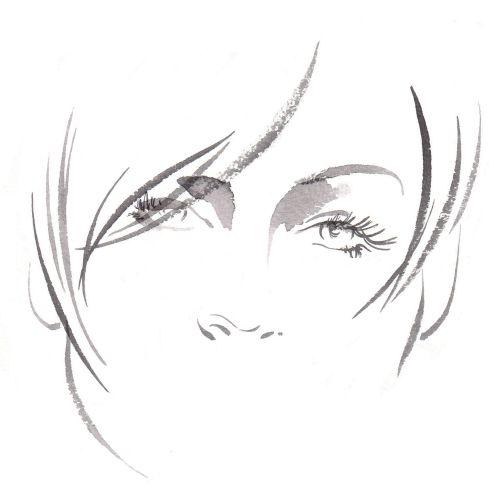 Marks & Spencer - Face cream illustration by Katharine Asher