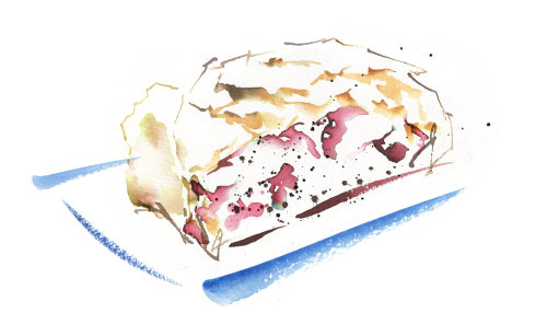Strudel illustration by Katharine Asher