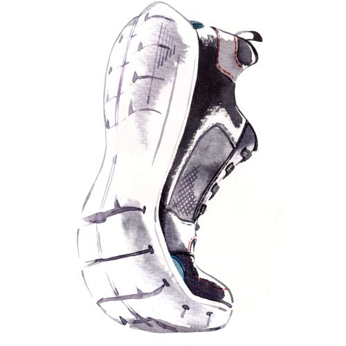 Rockport Sport shoe illustration