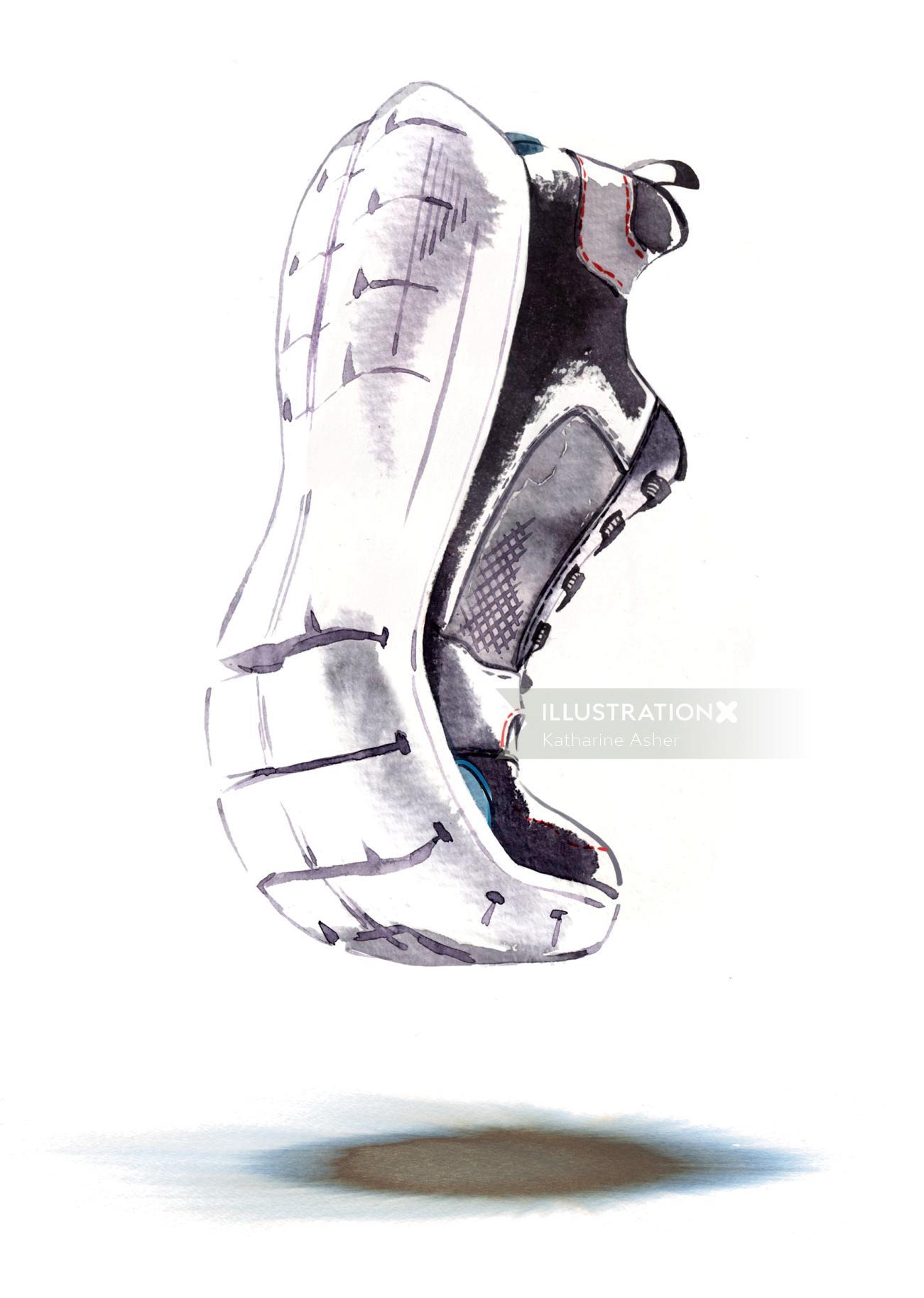 Rockport Sport shoe illustration