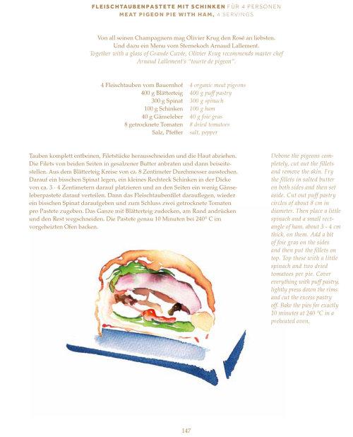 Food watercolor illustration