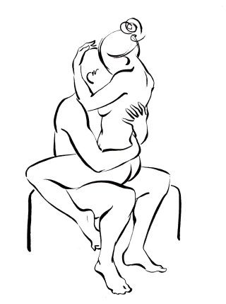 An illustration of classic sex positions
