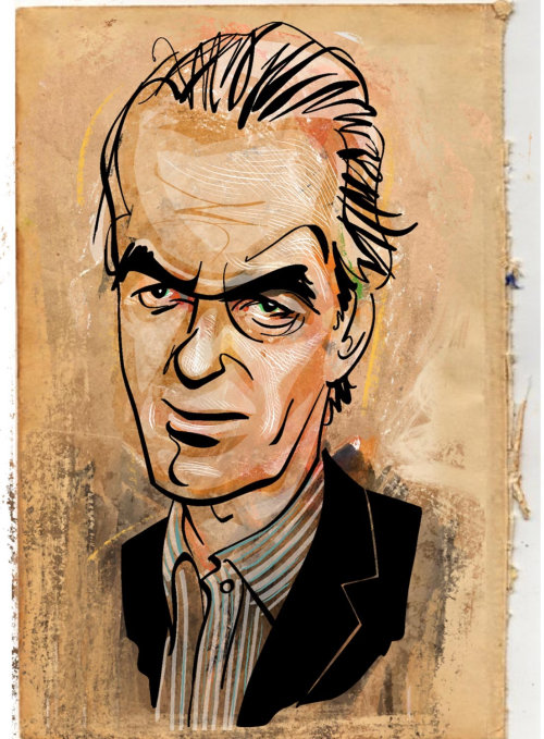 Portrait of Martin Amis