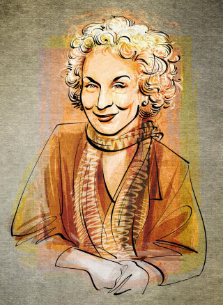 Portraiture of Margaret Atwood