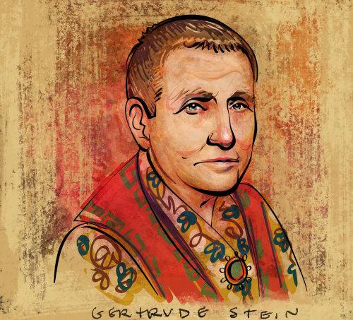 Retrato de Gertrude Stein